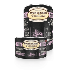 Oven Baked Tradition Oven-Baked Tradition Grain-Free Rabbit Pate for Dogs - 12.5oz
