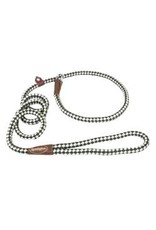 Coastal Coastal® Remington® Braided Rope Dog Slip Leash Green & White 6 Feet