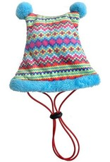 Huxley & Kent Med Dbl Peak Hat Fairisle