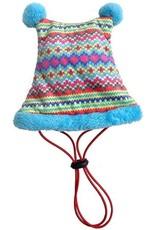 Huxley & Kent Lge Dbl Peak Hat Fairisle