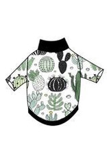 Ruff-Stitched Watercolour Cacti Sweater