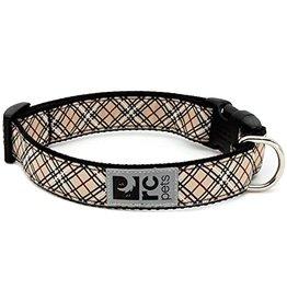 RC Pets Clip Collar - Tan Tartan