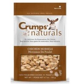 Crumps Crumps' naturals Freeze Dried Chicken Morsels 135g