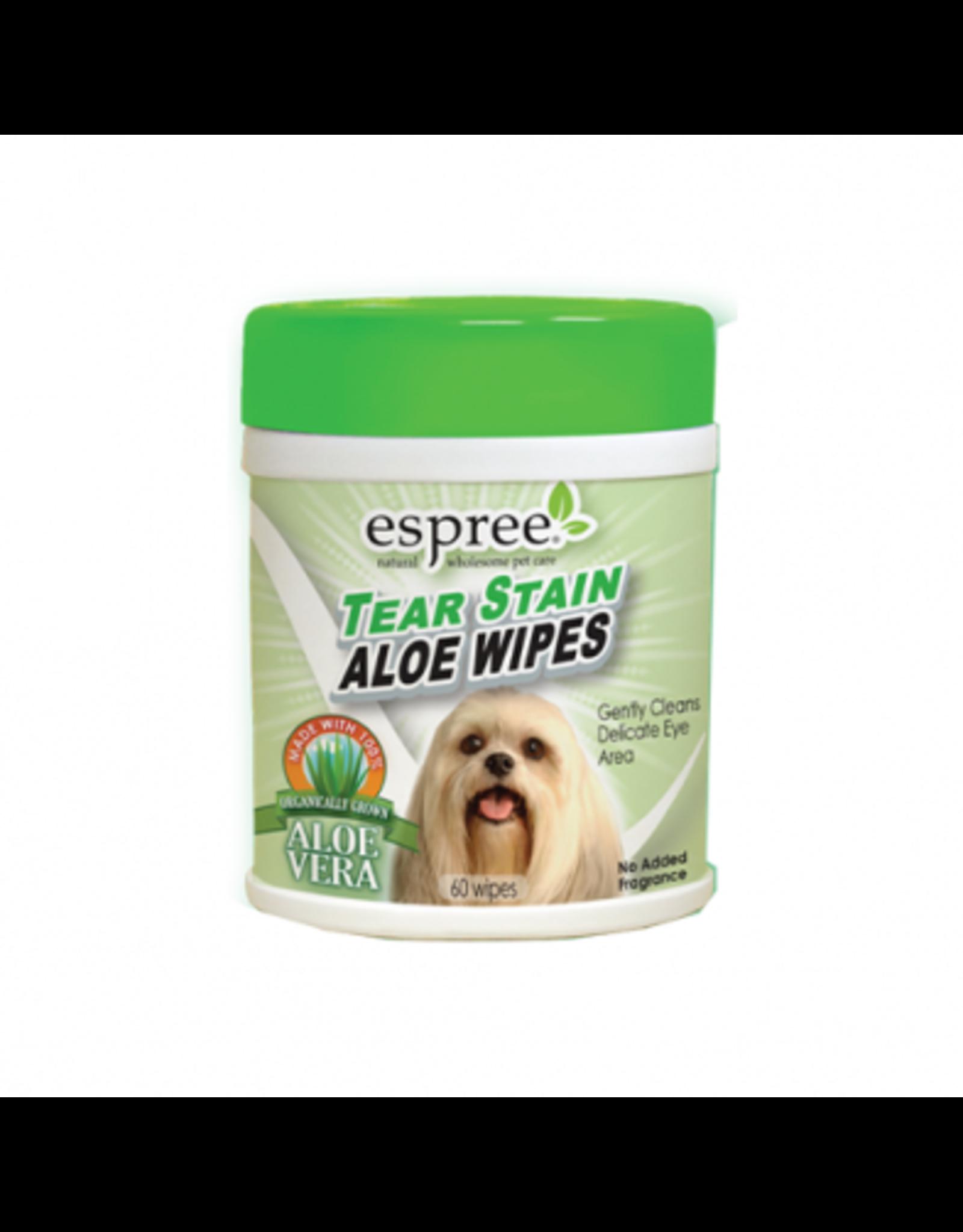 Espree Espree Tear Stain Aloe Wipes for Dogs