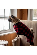 Silver Paw Red Plaid Matching PJs - Dog