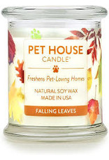 One Fur All Large Candles Falling Leaves 8.5oz