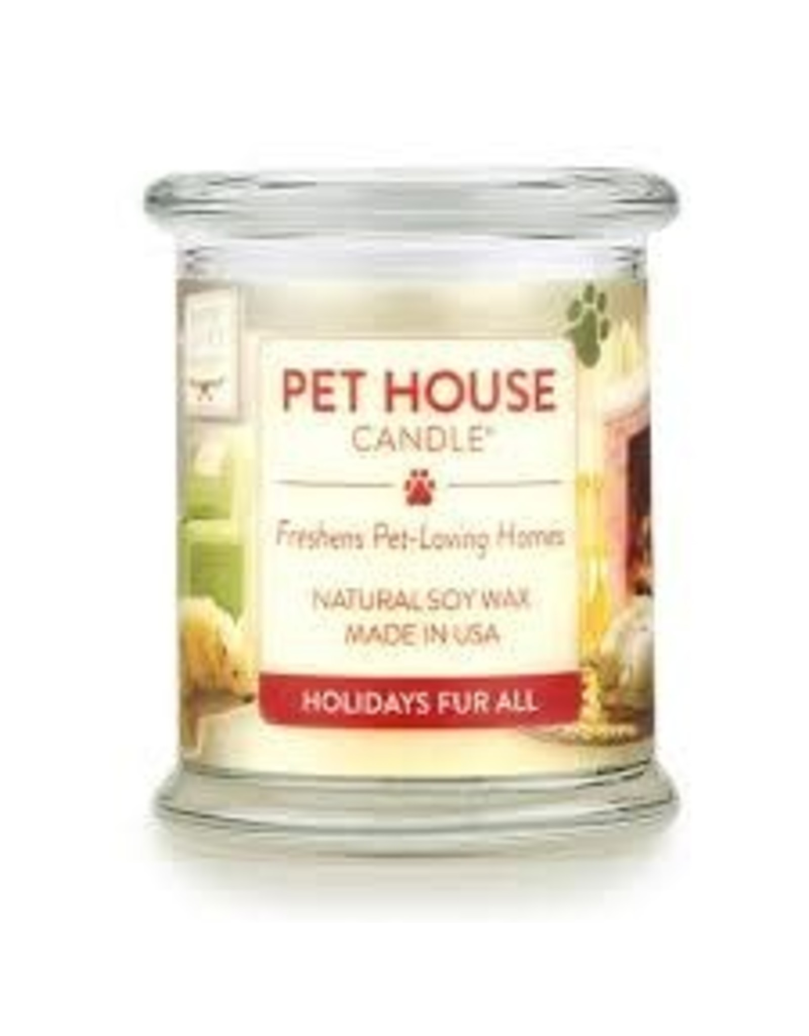 One Fur All Large Candles Holidays Fur All 8.5oz