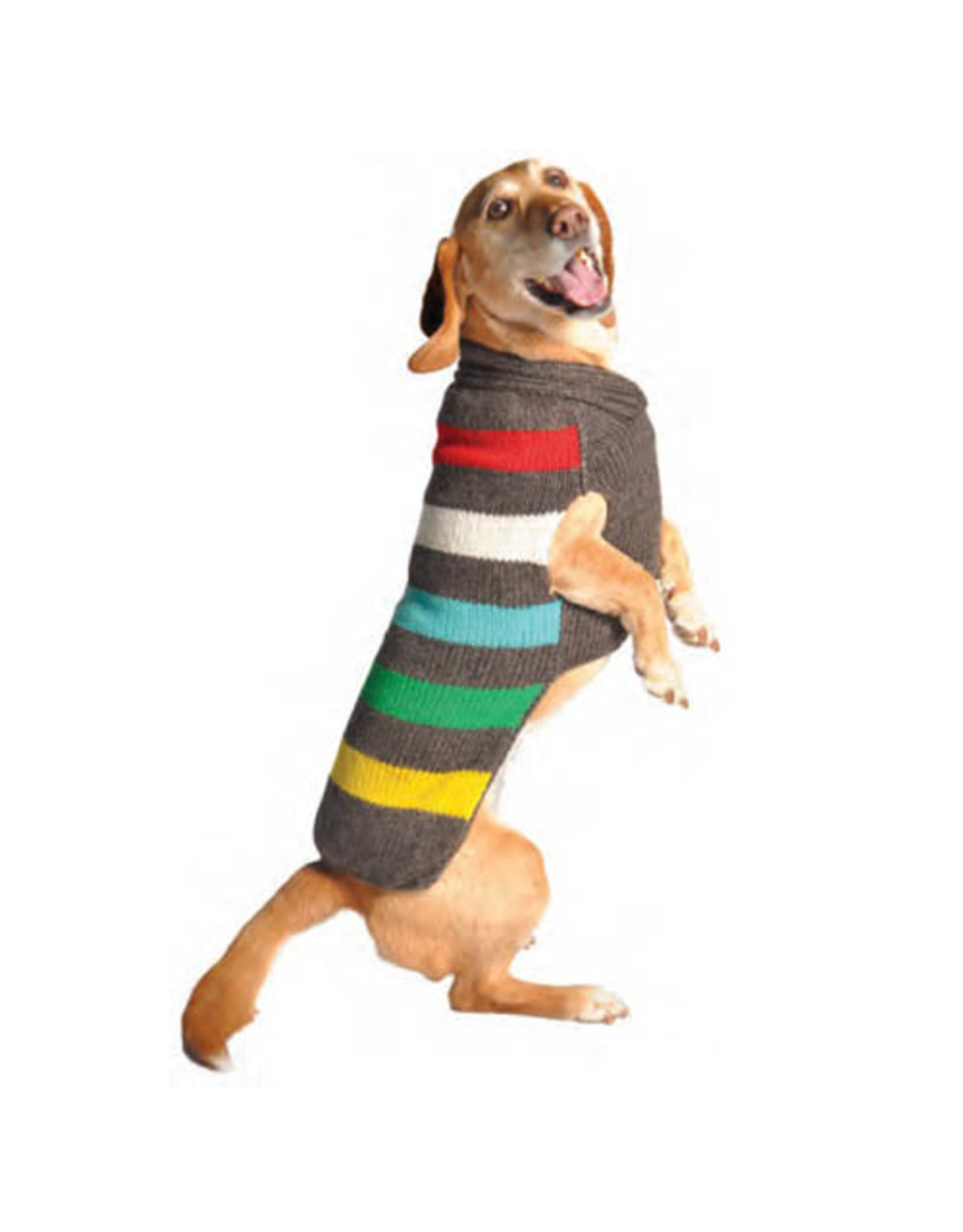 Chilly Dog Clothing Chilly Dog Sweaters - Charcoal Stripes
