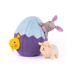 Zippy Paws Easter Egg & Friends Burrow