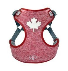 Pretty Paw Pretty Paw Harness- Canada Red
