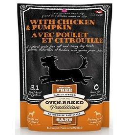 Oven Baked Tradition Oven Baked Tradition Soft & Chewy Chicken & Pumpkin 8oz