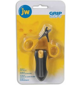 JW Small Nail Clippers with Carrying Case