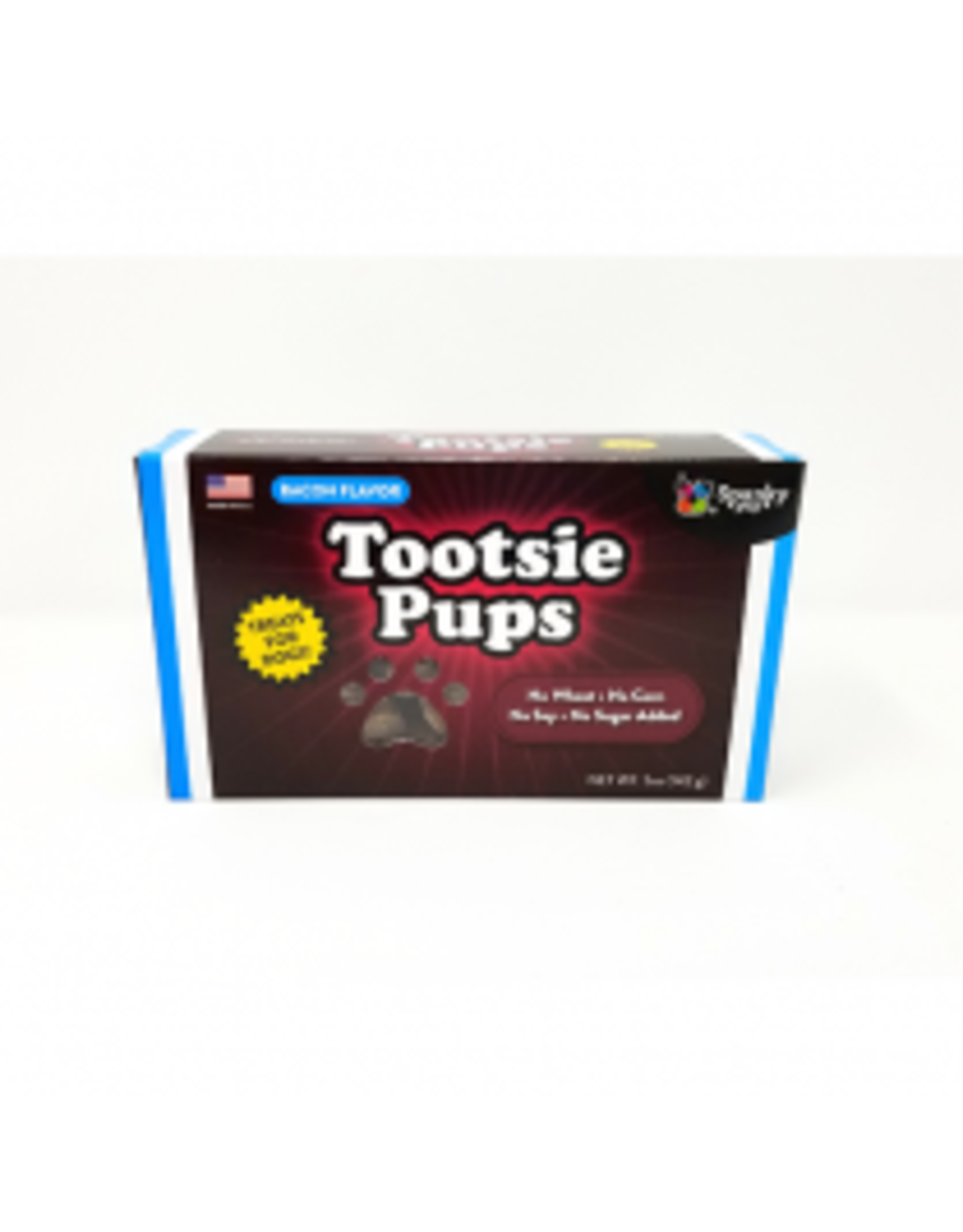 Spunky Pup Tootsie Pups - Bacon 5oz