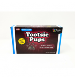 Spunky Pup Tootsie Pups - Bacon 5oz
