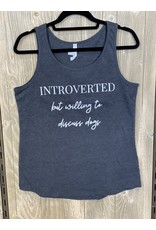 CocoMutts Introverted But Willing to Discuss Dogs - Women's Tank