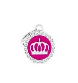 MyFamily Tag - Pink Glam Crown