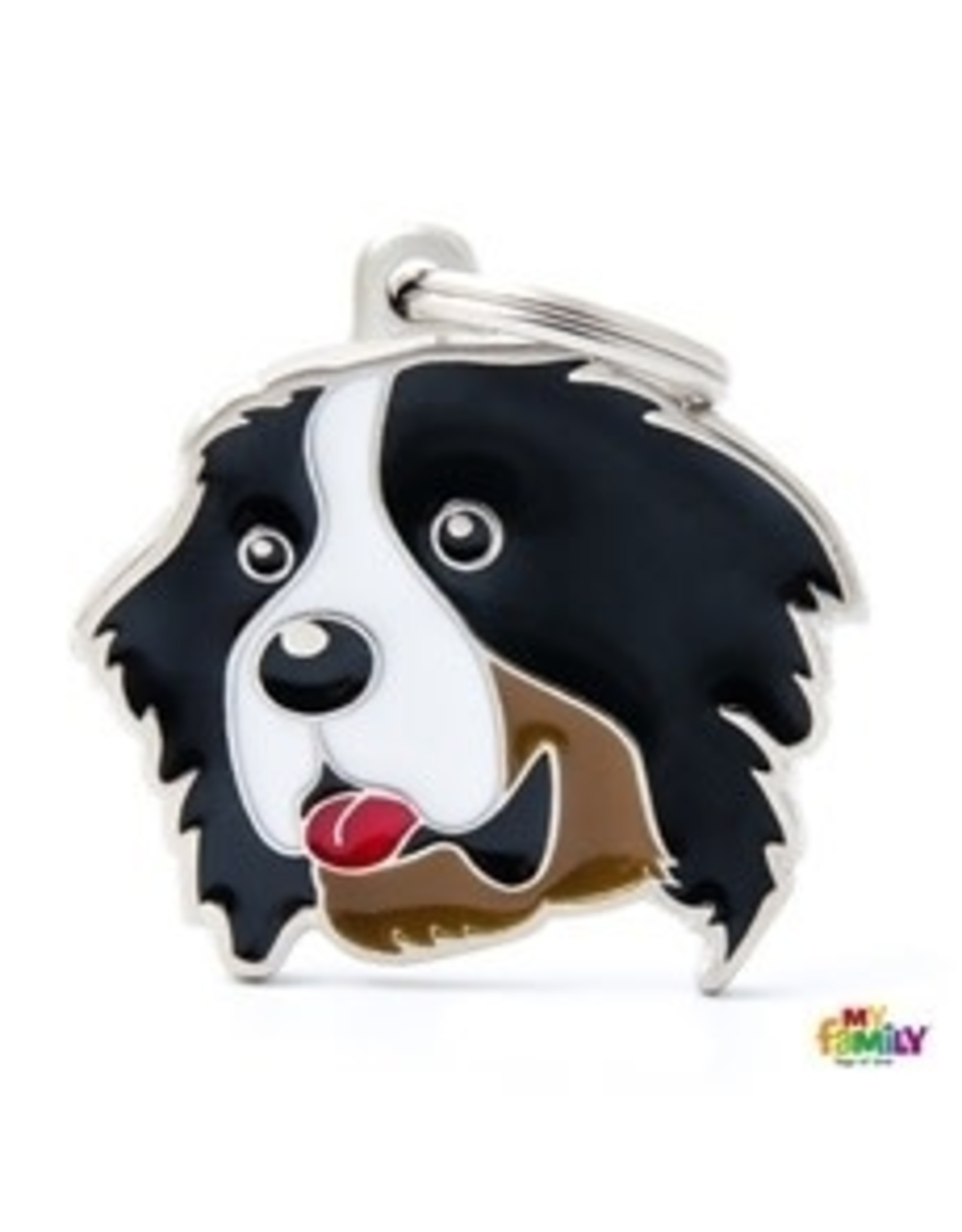 MyFamily Tag - Bernese Mountain Dog