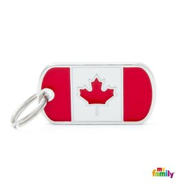 MyFamily Tag - Canadian Flag
