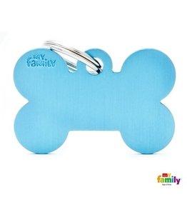 MyFamily Tag - Light Blue Bone