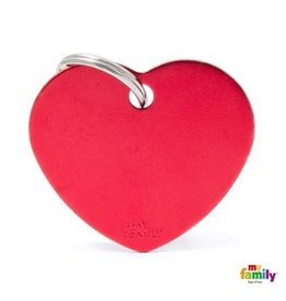 MyFamily Tag - Red Heart