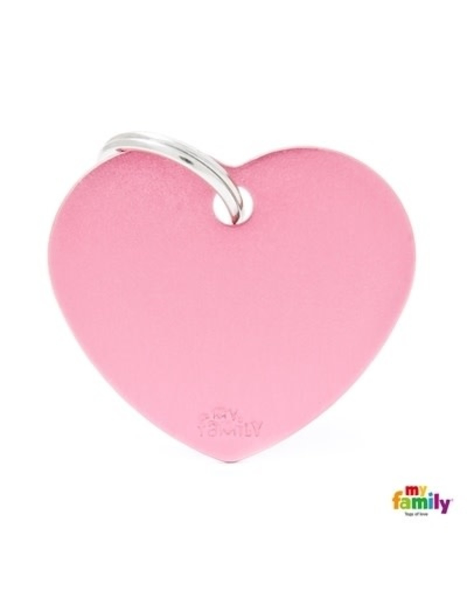 MyFamily Tag - Pink Heart