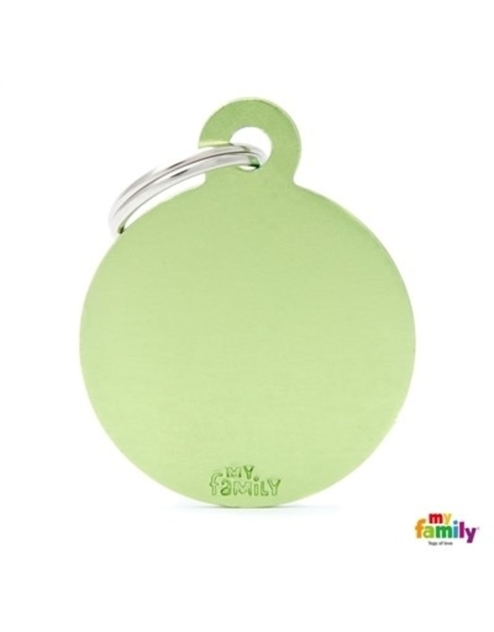 MyFamily Tag - Round Green