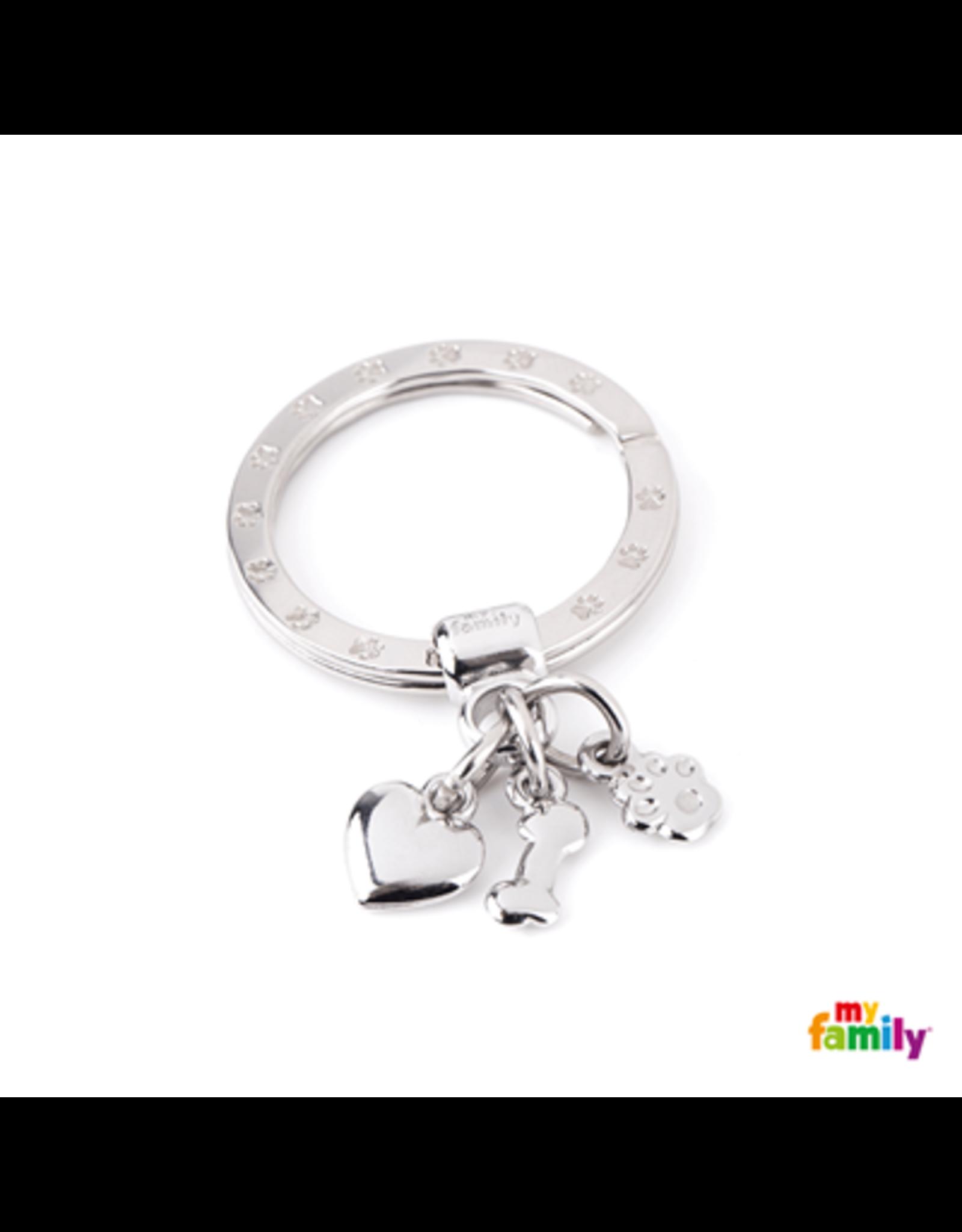MyFamily Tag - Key Ring