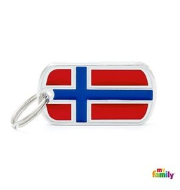 MyFamily Tag - Flag of Norway