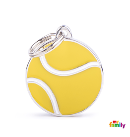 MyFamily Tag - Tennis Ball