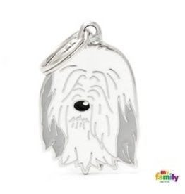 MyFamily Tag - Bearded Collie