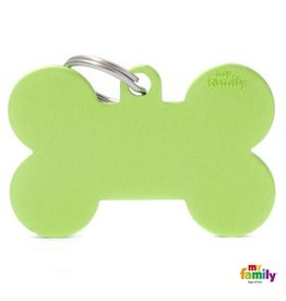 MyFamily Tag - Green Bone