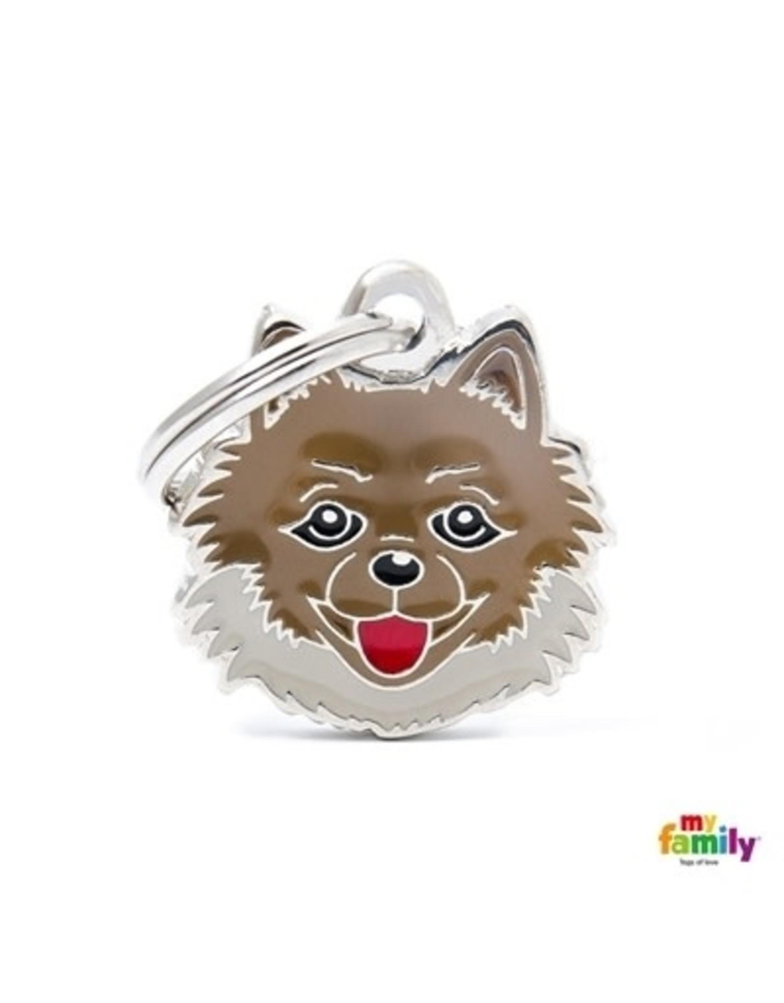 MyFamily Tag - Pomeranian