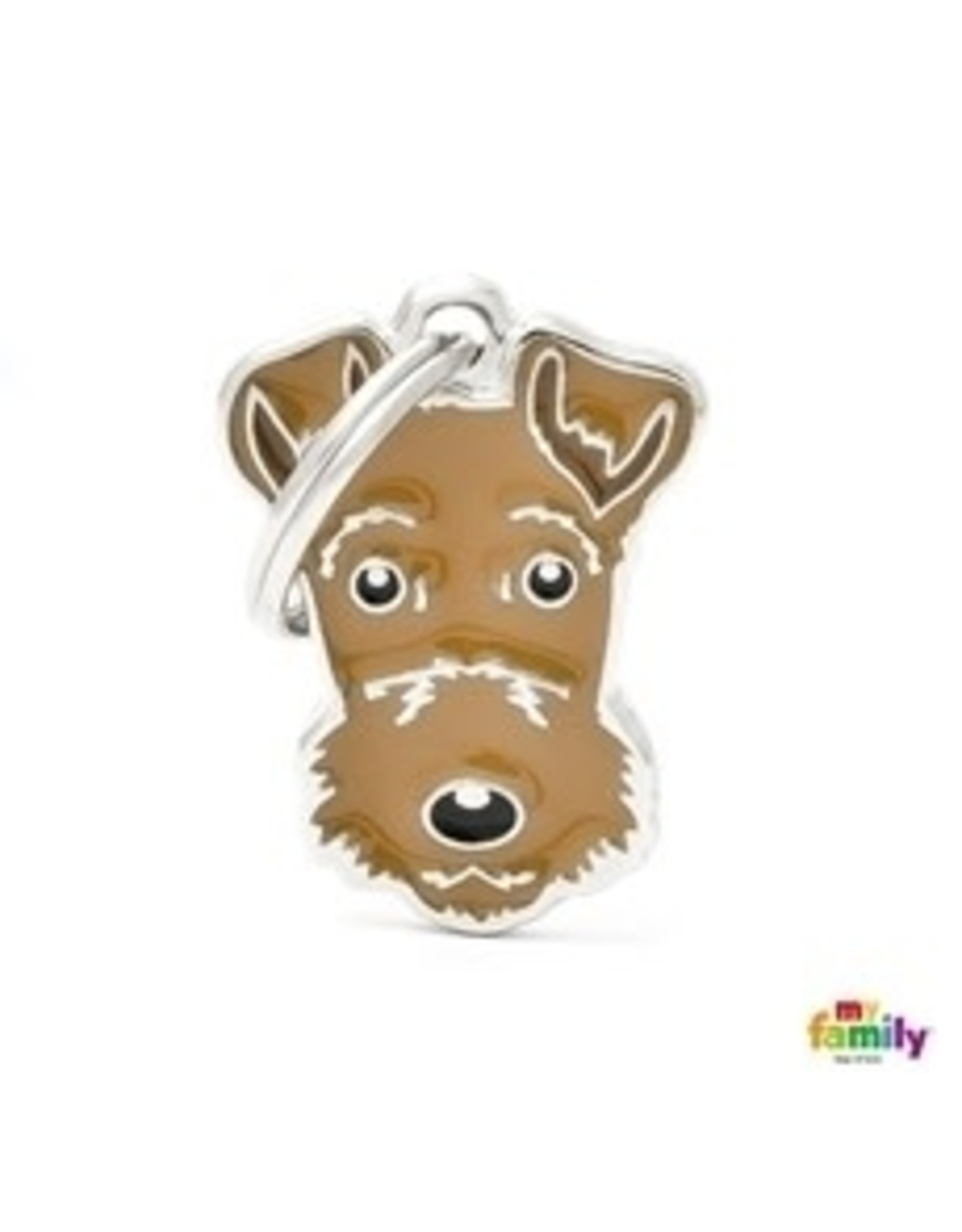 MyFamily Tag - Airedale