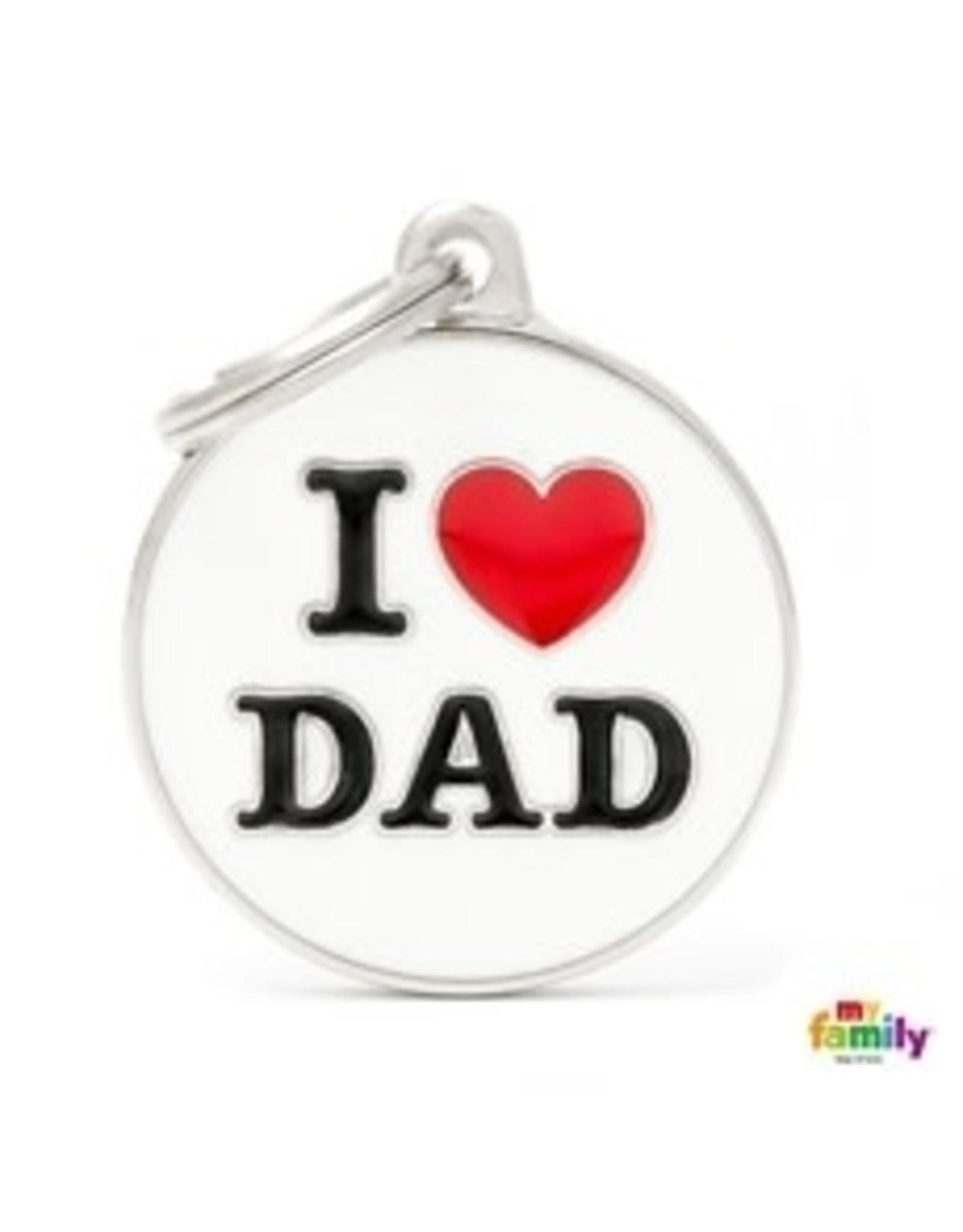 MyFamily Tag - I Love Dad