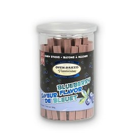 Oven Baked Tradition Blueberry Flavour Chew Sticks, 200g