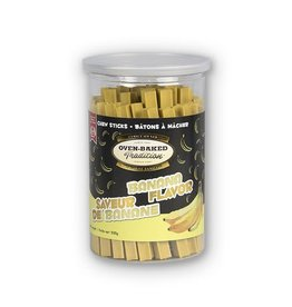 Oven Baked Tradition Banana Flavour Chew Sticks, 200g