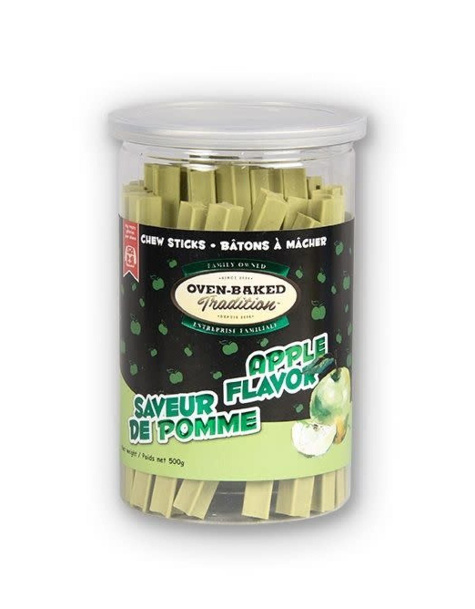 Oven Baked Tradition Apple Flavour Chew Sticks, 200g