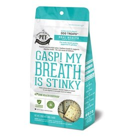 Granville Island Pet Treatery Granville Oral Health Treats Gasp My Breath is Stinky Dog 1X240G