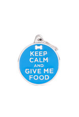 MyFamily Tag - Keep Calm and Give Me Food