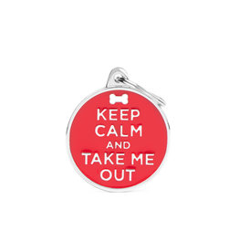 MyFamily Tag - Keep Calm and Take Me Out