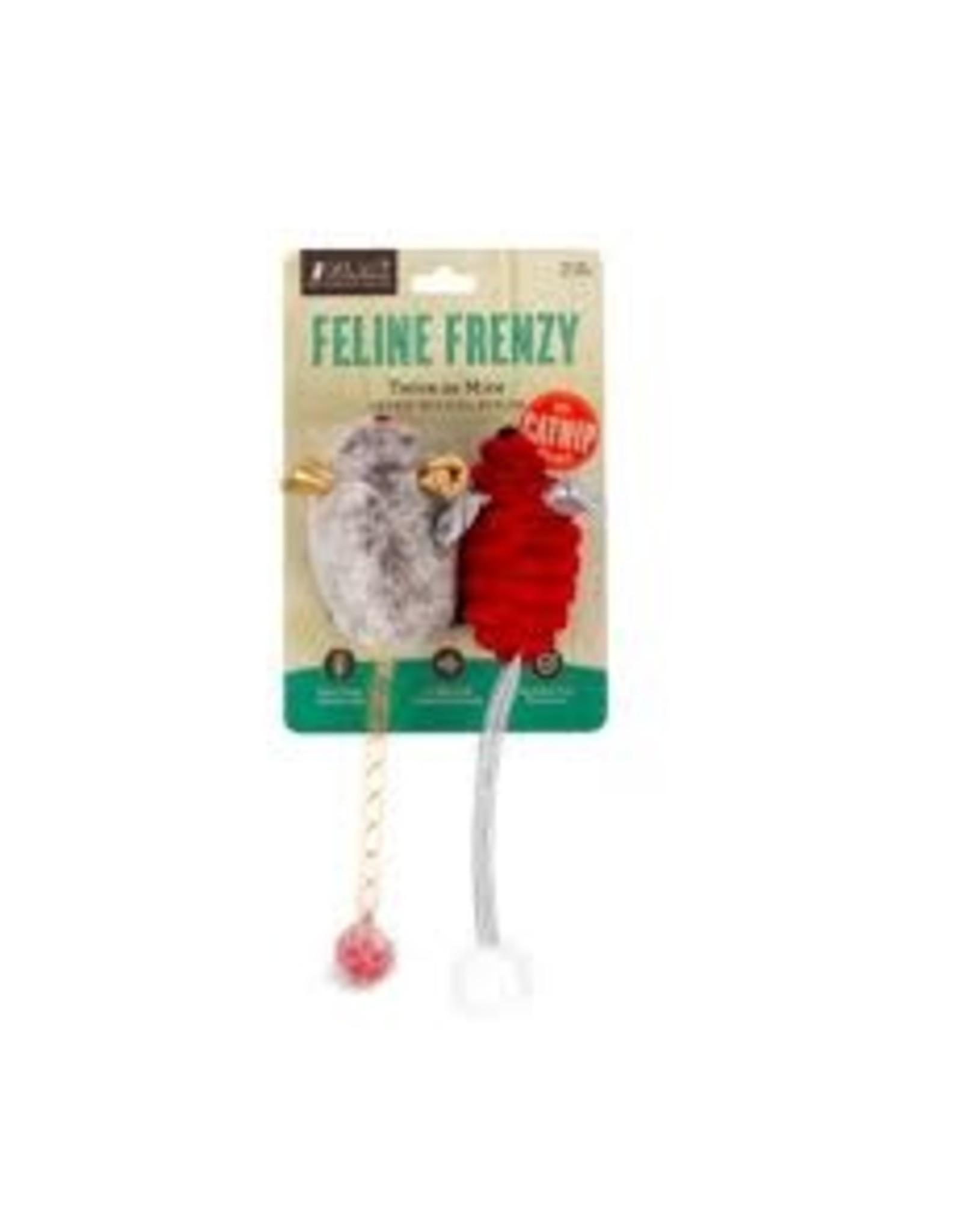Play Feline Frenzy Catnip Toy - Catch A Meowse (2pk)