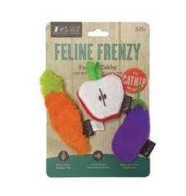 Play Feline Frenzy Catnip Toy - Farm To Tabbi (3pk)
