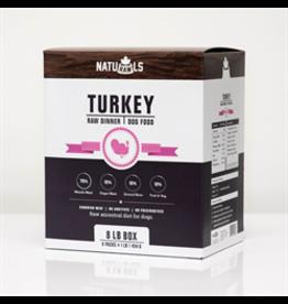NatuRAWls NatuRAWls - Frozen Raw Turkey with Veggies, 8 x 454g