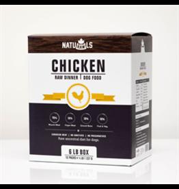 NatuRAWls NatuRAWls Frozen Chicken with Veggies, 8 x 454g