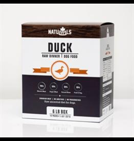 NatuRAWls NatuRAWls Frozen Duck with Veggies, 8 x 454g