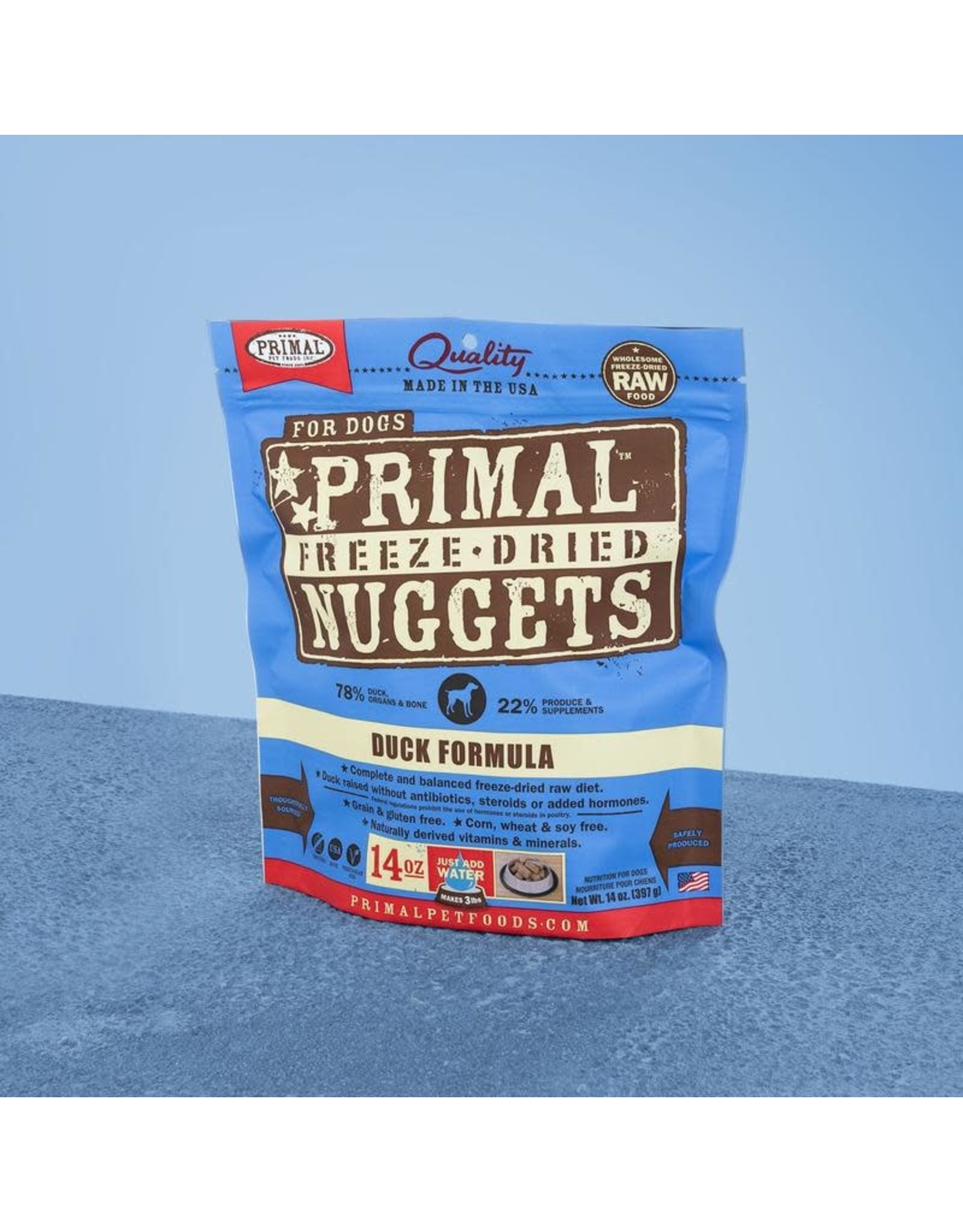 Primal Primal Freeze-Dried Duck, 14oz