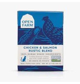 Open Farm Chicken & Salmon Rustic Blend (Cat Food), 5.5oz