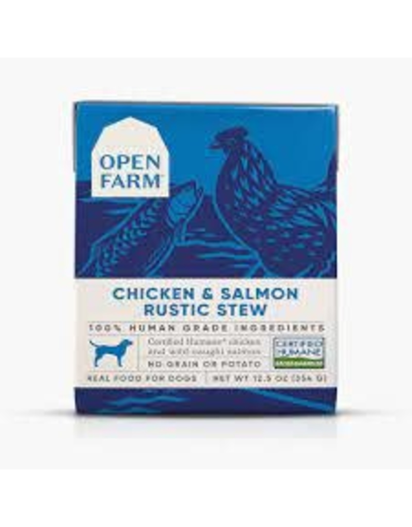 Open Farm Chicken & Salmon Rustic Stew, 12.5oz