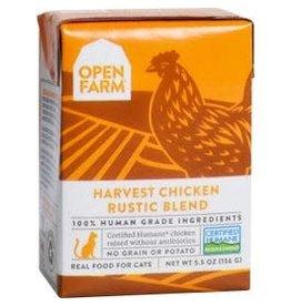 Open Farm Chicken Rustic Blend (Cat food), 5.5oz