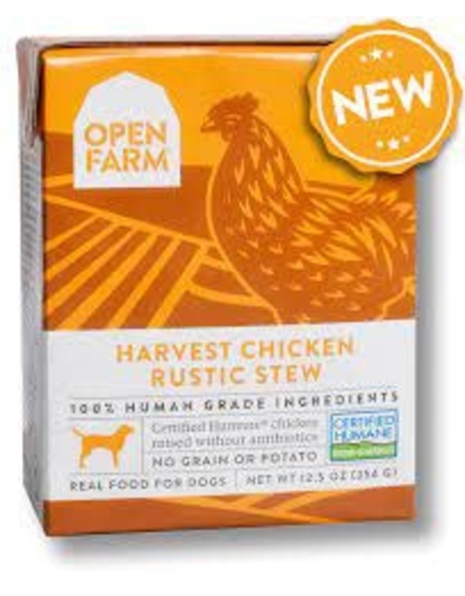 Open Farm Chicken Rustic Stew, 12.5oz